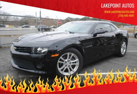 2014 Chevrolet Camaro for sale at Lakepoint Autos in Cartersville GA