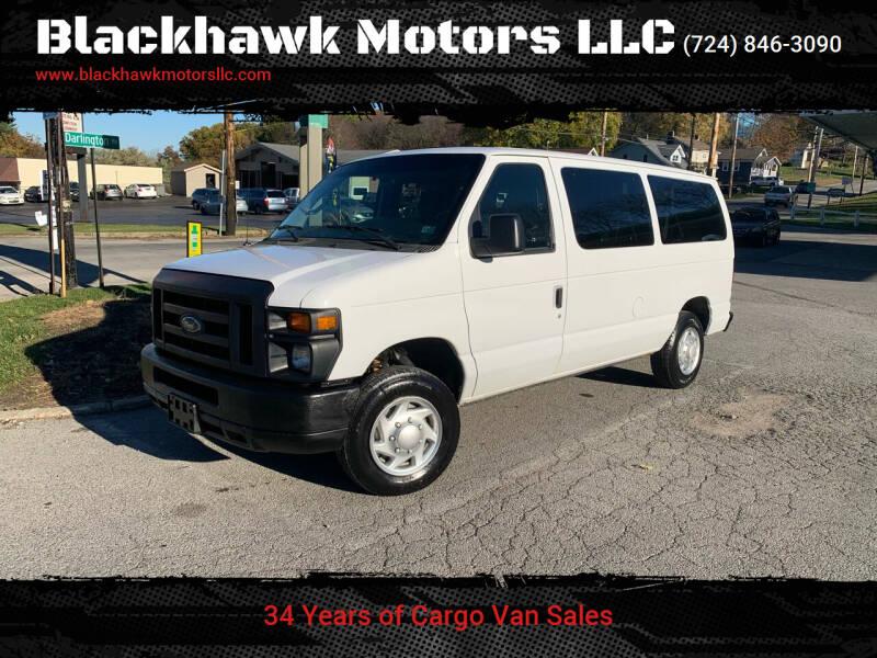 2012 Ford E-Series Wagon for sale at Blackhawk Motors LLC in Beaver Falls PA