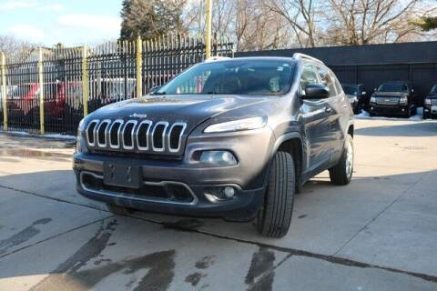 2014 Jeep Cherokee for sale at F & M AUTO SALES in Detroit MI