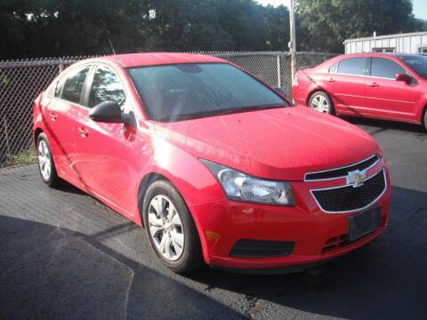 2014 Chevrolet Cruze for sale at Collector Car Co in Zanesville OH