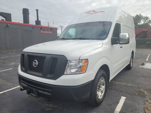2017 Nissan NV Cargo for sale at Showcase Auto & Truck in Swansea MA
