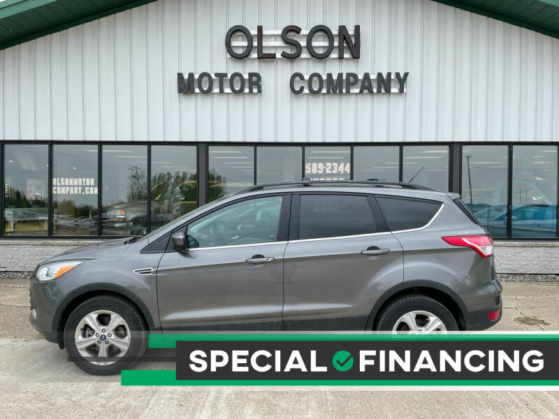 2013 Ford Escape for sale at Olson Motor Company in Morris MN