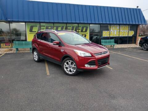 2016 Ford Escape for sale at CITY SELECT MOTORS in Galesburg IL