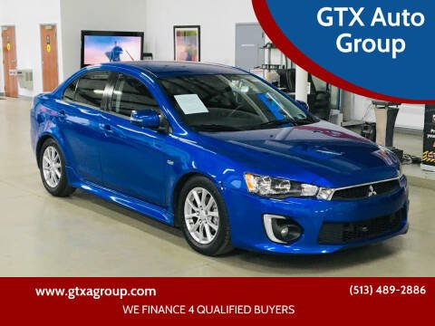 2016 Mitsubishi Lancer for sale at GTX Auto Group in West Chester OH