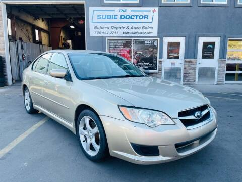 2008 Subaru Legacy for sale at The Subie Doctor in Denver CO