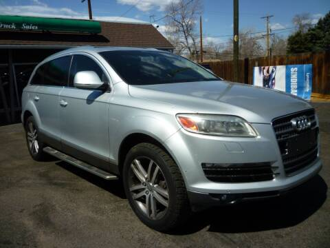 2008 Audi Q7 for sale at Sindibad Auto Sale, LLC in Englewood CO