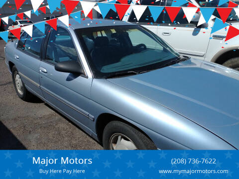 1996 Chevrolet Lumina for sale at Major Motors in Twin Falls ID