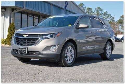 2019 Chevrolet Equinox for sale at STRICKLAND AUTO GROUP INC in Ahoskie NC