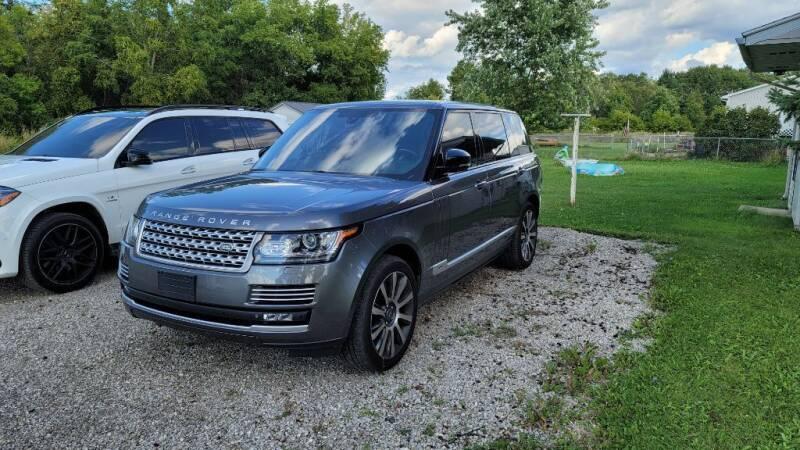 2015 Land Rover Range Rover for sale at Clare Auto Sales, Inc. in Clare MI