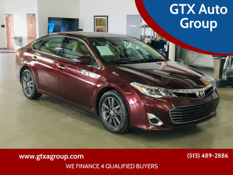 2015 Toyota Avalon for sale at GTX Auto Group in West Chester OH