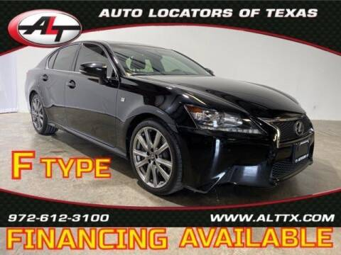 2015 Lexus GS 350 for sale at AUTO LOCATORS OF TEXAS in Plano TX