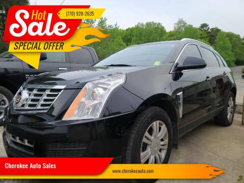 2015 Cadillac SRX for sale at Cherokee Auto Sales in Acworth GA