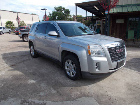 2010 GMC Terrain for sale at MOTION TREND AUTO SALES in Tomball TX