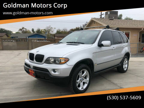 2006 BMW X5 for sale at Goldman Motors Corp in Stockton CA