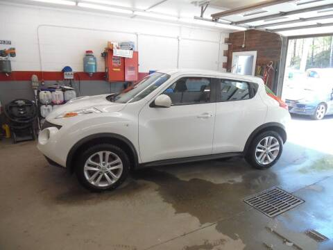 2013 Nissan JUKE for sale at East Barre Auto Sales, LLC in East Barre VT