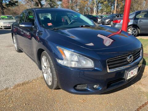 2012 Nissan Maxima for sale at Super Wheels-N-Deals in Memphis TN
