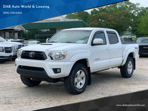 2014 Toyota Tacoma for sale at DAB Auto World & Leasing in Wake Forest NC