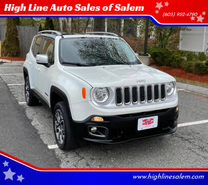 2016 Jeep Renegade for sale at High Line Auto Sales of Salem in Salem NH