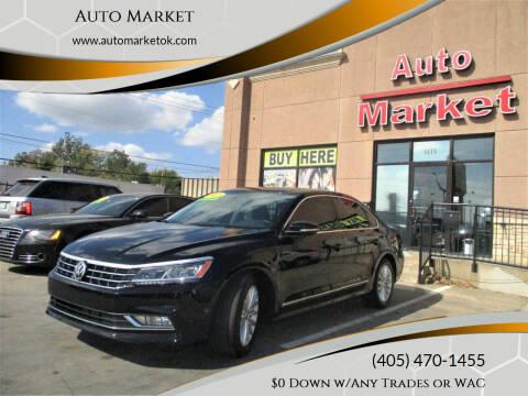 2016 Volkswagen Passat for sale at Auto Market in Oklahoma City OK