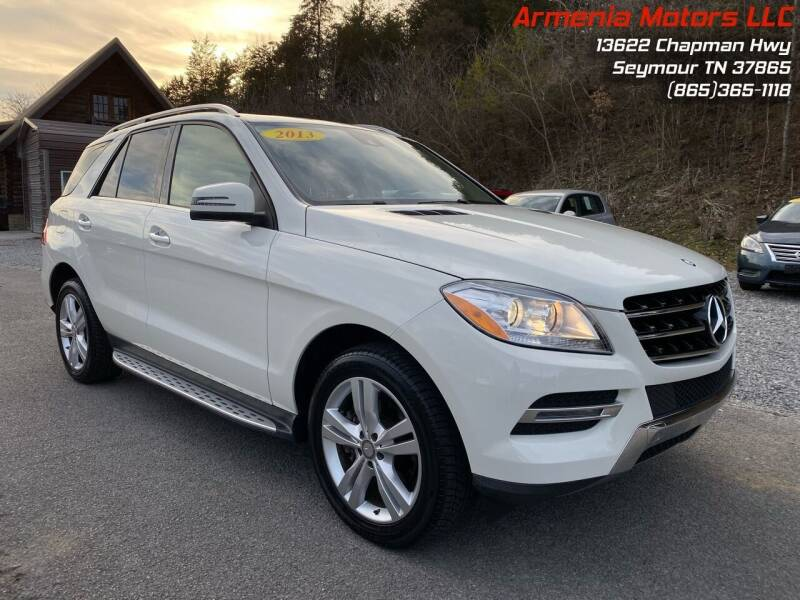2013 Mercedes-Benz M-Class for sale at Armenia Motors in Seymour TN