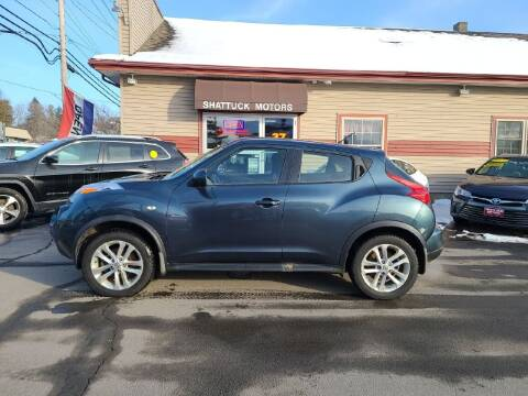 2012 Nissan JUKE for sale at Shattuck Motors in Newport VT