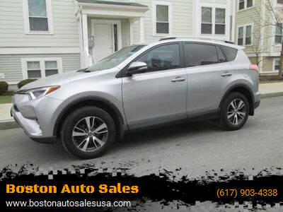2017 Toyota RAV4 for sale at Boston Auto Sales in Brighton MA