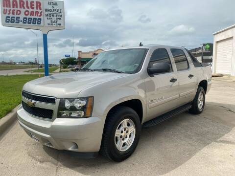 2008 Chevrolet Avalanche for sale at MARLER USED CARS in Gainesville TX
