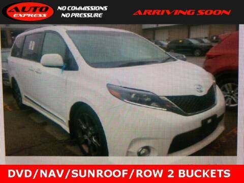 2015 Toyota Sienna for sale at Auto Express in Lafayette IN