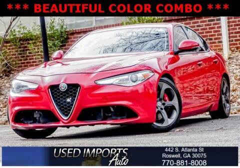 2017 Alfa Romeo Giulia for sale at Used Imports Auto in Roswell GA