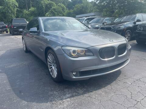 2009 BMW 7 Series for sale at Magic Motors Inc. in Snellville GA