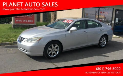 2007 Lexus ES 350 for sale at PLANET AUTO SALES in Lindon UT