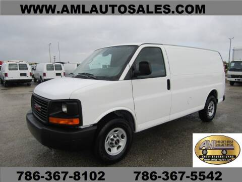 2014 GMC Savana G-2500  G 2500   G2500 for sale at AML AUTO SALES - Cargo Vans in Opa-Locka FL