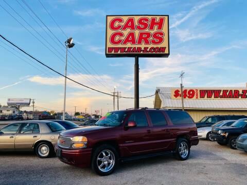 2002 GMC Yukon XL for sale at www.CashKarz.com in Dallas TX