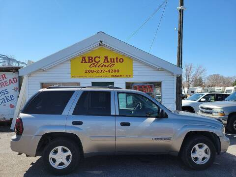 2002 Chevrolet TrailBlazer for sale at ABC AUTO CLINIC - Chubbuck in Chubbuck ID