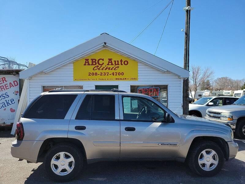 2002 Chevrolet TrailBlazer for sale at ABC AUTO CLINIC - Chubbuck in Chubbuck ID