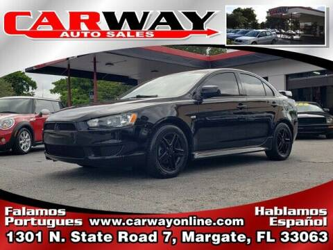 2011 Mitsubishi Lancer for sale at CARWAY Auto Sales in Margate FL