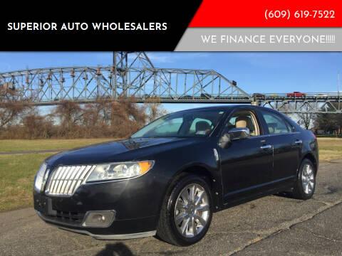 2010 Lincoln MKZ for sale at Superior Auto Wholesalers in Burlington City NJ