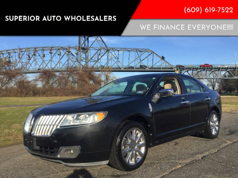 2010 Lincoln MKZ for sale at Superior Auto Wholesalers in Burlington City NJ