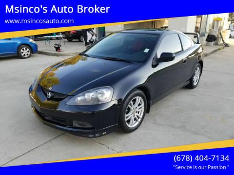 2006 Acura RSX for sale at Msinco's Auto Broker in Snellville GA