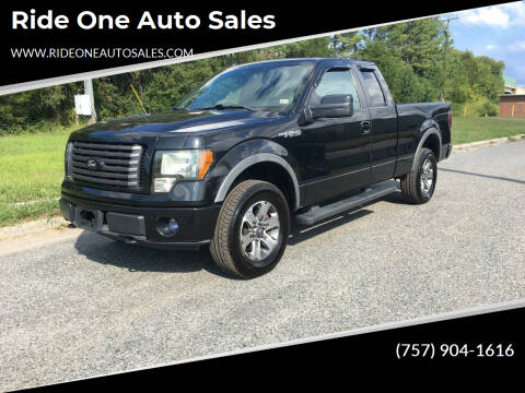 2012 Ford F-150 for sale at Ride One Auto Sales in Norfolk VA