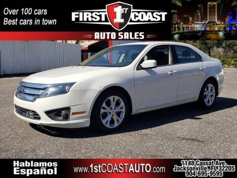 2012 Ford Fusion for sale at 1st Coast Auto -Cassat Avenue in Jacksonville FL