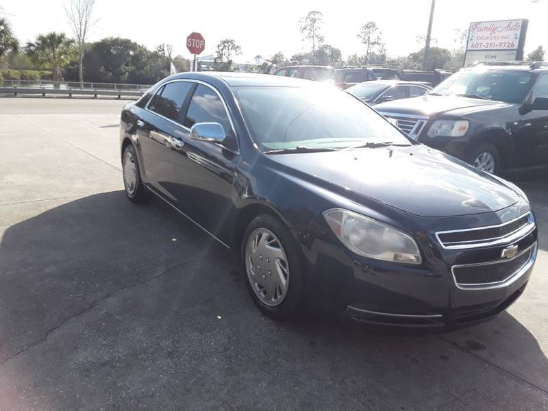 2010 Chevrolet Malibu for sale at FAMILY AUTO BROKERS in Longwood FL