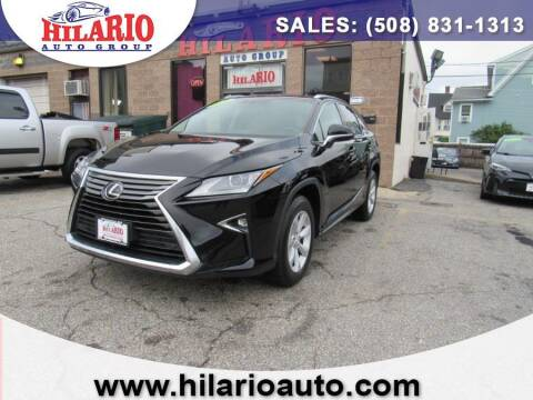 2016 Lexus RX 350 for sale at Hilario's Auto Sales in Worcester MA