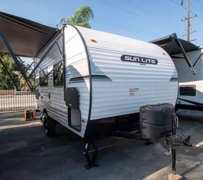 2022 Sunset Park RV Sun Lite Sport 18RD for sale at GQC AUTO SALES in San Bernardino CA