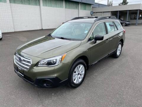 2017 Subaru Outback for sale at TacomaAutoLoans.com in Tacoma WA