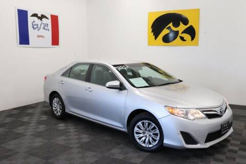 2013 Toyota Camry for sale at Carousel Auto Group in Iowa City IA