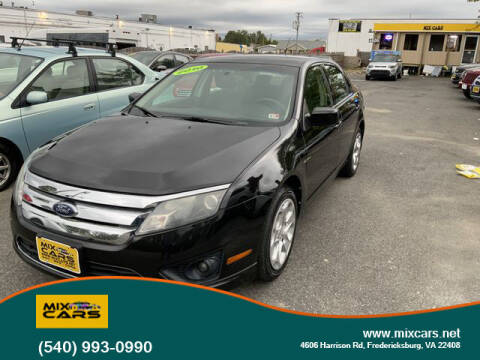 2010 Ford Fusion for sale at Mix Cars in Fredericksburg VA
