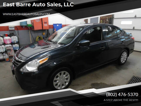 2017 Nissan Versa for sale at East Barre Auto Sales, LLC in East Barre VT