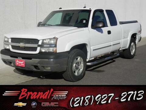 2004 Chevrolet Silverado 1500 for sale at Brandl GM in Aitkin MN