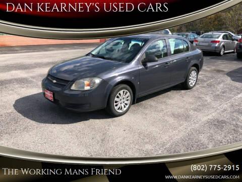 2009 Chevrolet Cobalt for sale at DAN KEARNEY'S USED CARS in Center Rutland VT